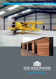 Steel Build Masters Brochure
