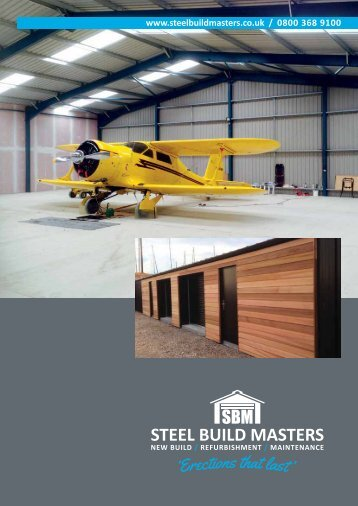 Steel Build Masters Brochure