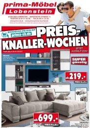 prima Möbel Lobenstein: Jetzt die Preis-Knaller-Wochen ausnutzen!
