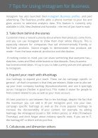 7 Tips for using Instagram for business - Page 4