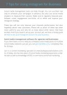 7 Tips for using Instagram for business - Page 6