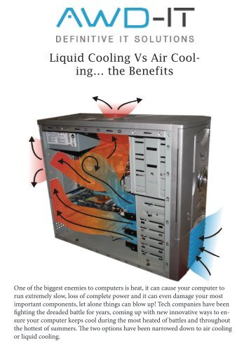 Liquid Cooling vs Air Cooling the Benefits