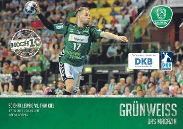 GRÜNWEISS – das Magazin der DHfK-Handballer – Heft 16 – Saison 2016/17