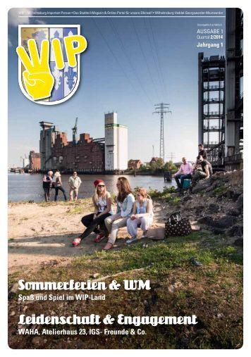 WIP Stadtteil- Magazin Nr. 1 2014