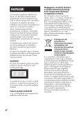 Sony CMT-DH30 - CMT-DH30 Consignes d'utilisation Hongrois - Page 2