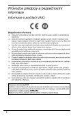 Sony VPCEB3M1R - VPCEB3M1R Documents de garantie Tchèque - Page 6