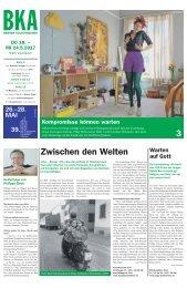Berner Kulturagenda 2017 N° 19