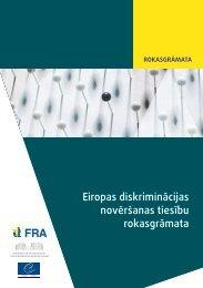 Eiropas diskriminācijas novēršanas tiesību rokasgrāmata