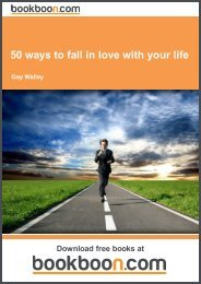 50 ways to fall in love with your life