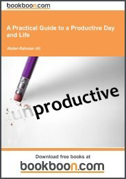 A Practical Guide to a Productive Day and Life