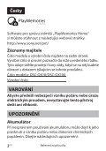 Sony DSC-QX10 - DSC-QX10 Guide de mise en route Tchèque - Page 6