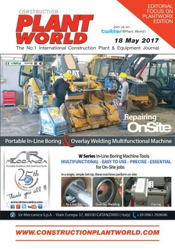 Construction Plant World 18th May 2017