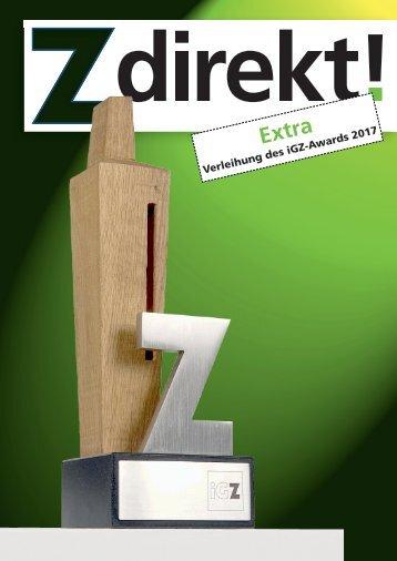 Z direkt! Extra iGZ-Award 2017