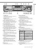 Sony MDS-JE640 - MDS-JE640 Consignes d'utilisation Espagnol - Page 5