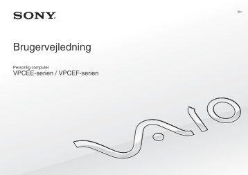 Sony VPCEE3M1E - VPCEE3M1E Mode d'emploi Danois