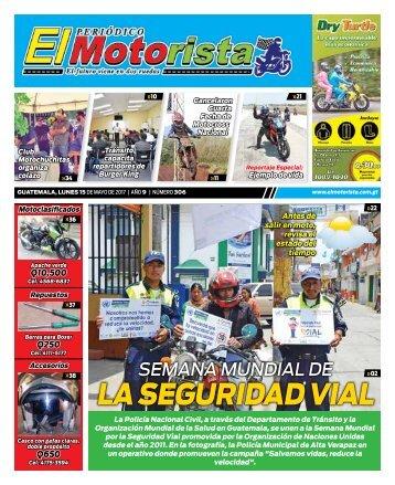 EL MOTORISTA Edicion 15 de Mayo