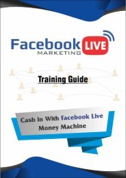 Facebook Live Marketing