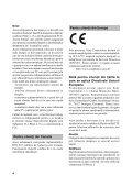 Sony SLT-A77M - SLT-A77M Mode d'emploi Roumain - Page 4