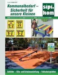 Sicherheit für unsere Kleinen Katalog | SIPIRIT GmbH Kommunalbedarf