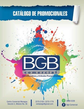 CATALOGO BGB COMERCIAL 2017