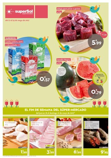 Supersol Supermercados del 17 al 23 de Mayo 2017