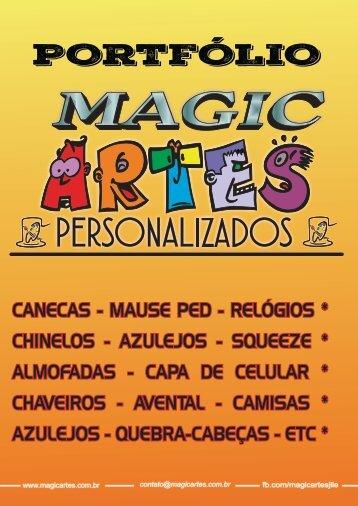 PORTFÓLIO DE PRODUTOS MAGIC ARTES