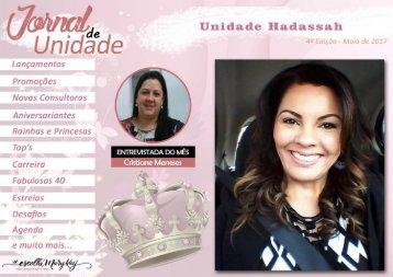 JORNAL DE UNIDADE - HADASSAH 052017