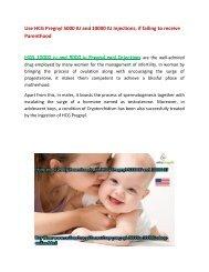Buy Pregnyl HCG 10000 iu 5000 iu Injections Online at OnlineDrugPills UK USA