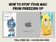 How to Stop Your Mac from Freezing Up