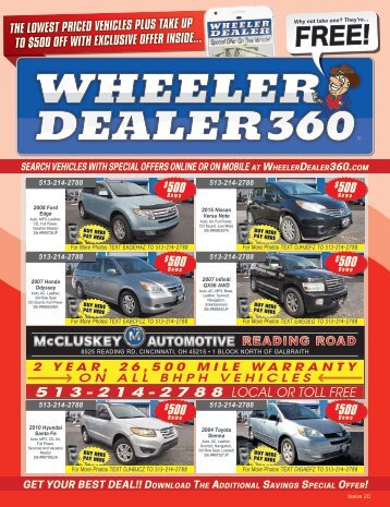 Wheeler Dealer Issue 20, 2017