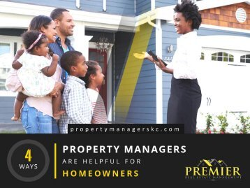 4 Ways Property Management Services Can Help You