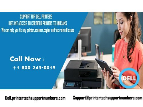 Dell Printer Technical Support Number 1855-341-4016