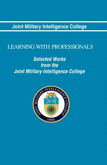 learning with professionals - Higgins Counterterrorism Research ...
