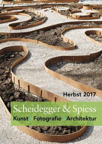 Vorschau Scheidegger & Spiess Herbst 2017