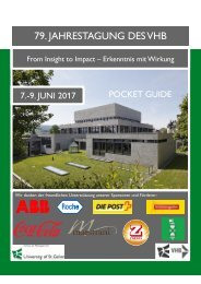Pocket Guide VHB-Tagung