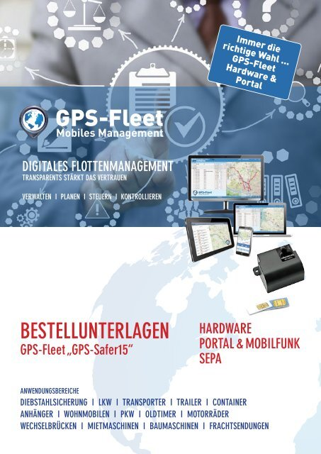 Bestellformular GPS-Safer15