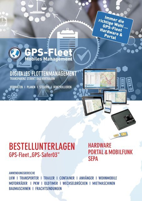 Bestellformular GPS-Safer03