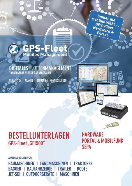 Bestellformular GF1500