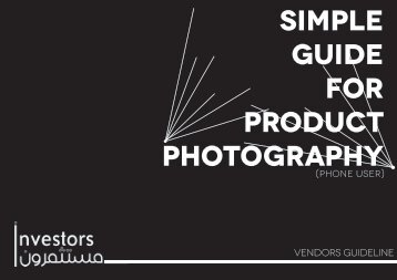 Simple Guide Phone Product Photography