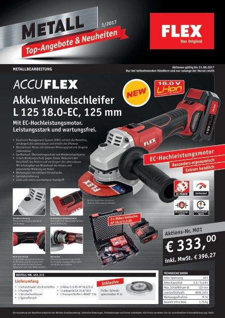 FLEX Ladegerät Schnellladegerät für 10,8 Volt Akkus CA 10.8 418.021