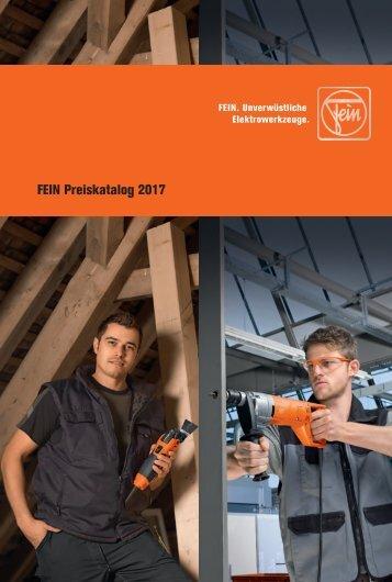 Schub FEIN Preiskatalog 2017