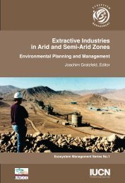 extractive industries book new - IUCN