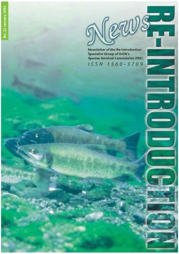 Regional Representatives - IUCN/SSC Re-introduction Specialist ...