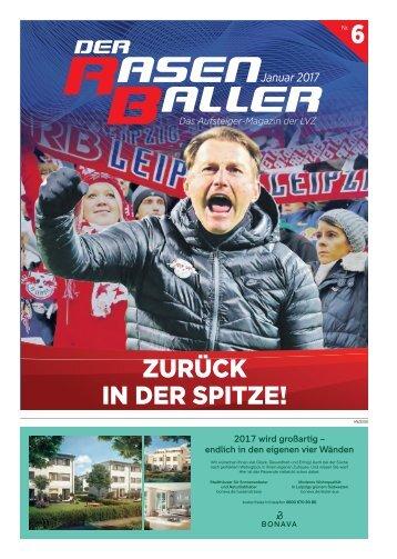 Der RASENBALLER Nr. 6 | Das Aufsteiger-Magazin der LVZ