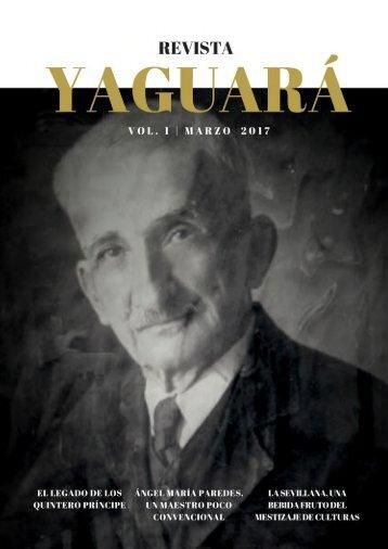 Revista Yaguará, edición marzo 2017.