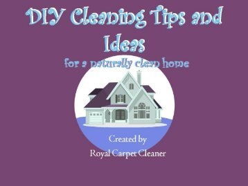 DIY Cleaning Tips and Ideas