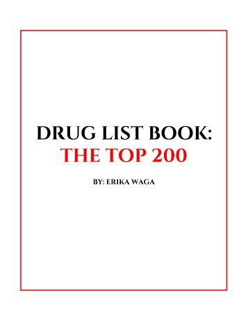 drug book draft