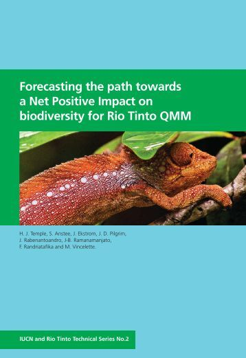 Forecasting the path towards a Net Positive Impact on ... - IUCN