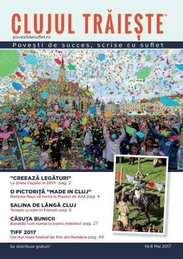 Povești de Suflet – Clujul Trăiește nr. 8 Mai 2017