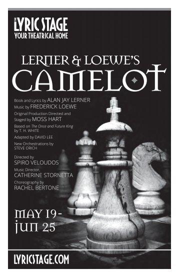 Camelot Program Note 2017